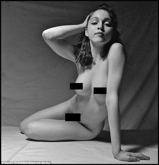 Nothing's changed! Madonna looks to have always been body confident following the release of a series of black-and-white images which show the singer as a 20-year-old taking part in a live modelling shoot for a photography class in 1979 in New York