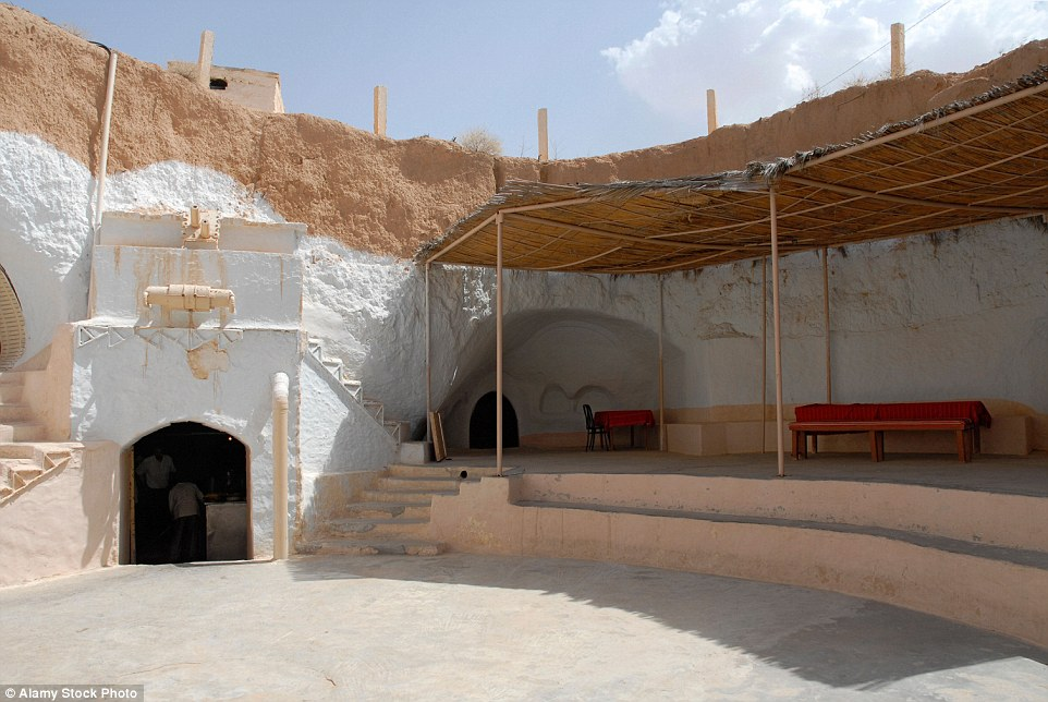 Hotel Sidi Driss in southern Tunisia is traditional troglodyte accommodation and was used in the making of the Star Wars films