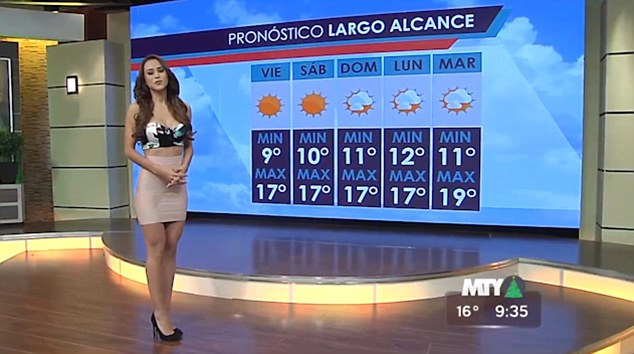 Online forums lit up with talk of the skin-coloured skirt worn on screen by Yanet Garcia, who has been compared to Kim Kardashian