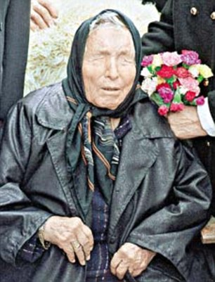 Baba Vanga (pictured) warned of the rise of ISIS by claiming there would be a 'great Muslim war' in 2016