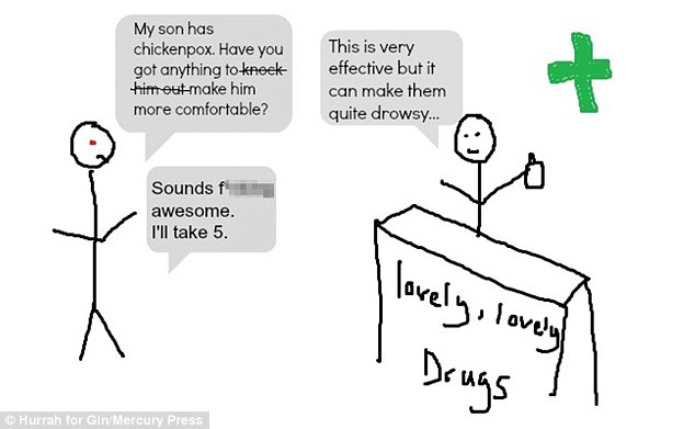 Mums Hurrah For Gin Cartoons Blog Reveals The Reality Of