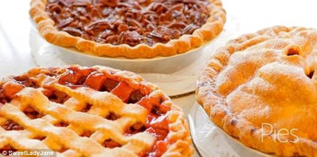 Professional: A selection of pies by Sweet Lady Jane on the bakery's official website