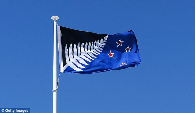 The 'Silver Fern (Black, White and Blue)' will go head-to-head with New Zealand's existing flag in a second referendum in March next year