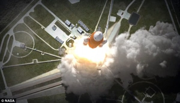 Nasa releases plans for the Orion space capsules first