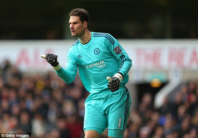 Asmir Begovic has been an able deputy in Courtois' injury absence and deserves another year at Chelsea