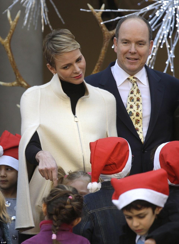 Princess Charlene And Prince Albert Of Monaco Make