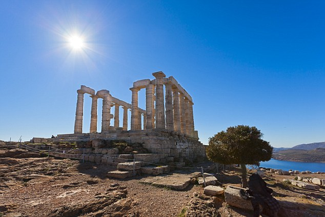 Instead of simply using Athens as a jump point to visit the Greek Islands, why not pay a visit to The Temple of Poseidon at Cape Sounion?