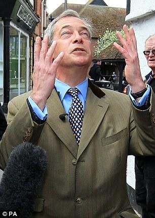Ukip leader Nigel Farage dismissed Mr Cameron's claim of progress at the EU talks