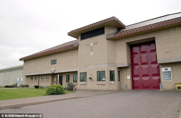 A carrying super-strength skunk cannabis crash landed inCategory B Bullingdon jail, in Bicester, Oxfordshire