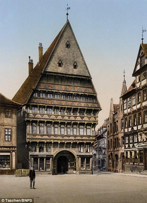 Hildesheim, Knochenhaueramtshaus,