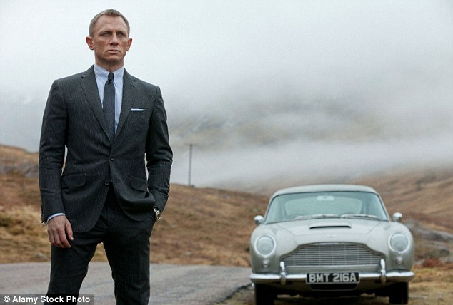 The Bond effect: Pretty much any Aston Martin that has featured in a Bond film will have gone up in value