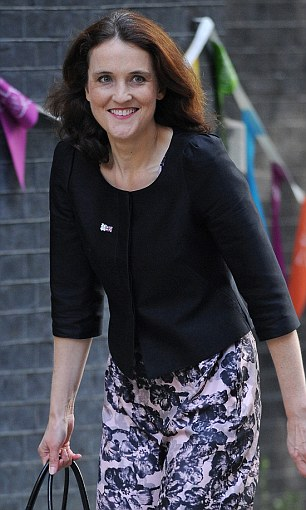 Northern Ireland Secretary Theresa Villiers