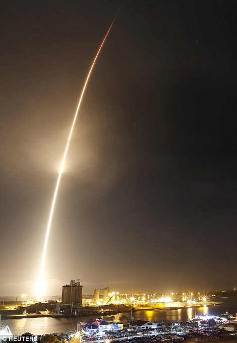 The launch and successful return of the rocket's first stage, followed by deployment of all 11 satellites delivered to orbit for customer ORBCOMM, marked the first SpaceX flight since a June accident that destroyed a cargo ship bound for the International Space Station