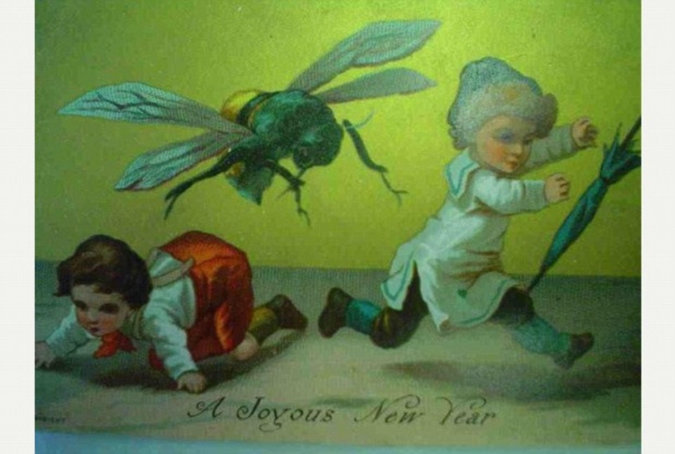victorian new year greetings