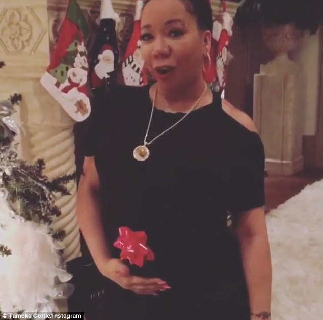Tameka Tiny Cottle 40 Reveals Shes Pregnant With