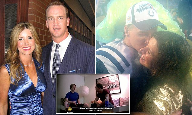 Nfl S Peyton Manning Admits His Wife Was Client Of Hgh Lab Daily Mail Online