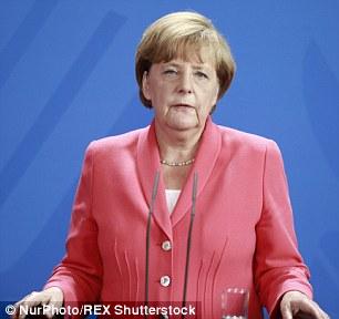 Chancellor Angela Merkel's popularity has waned as a result of her open-door policy