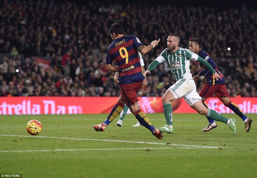The 28-year-old striker added further gloss to the scoreline by doubling his tally with a right-footed finish late in the second half