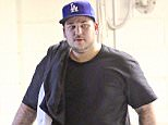EXCLUSIVE TO INF. ALL-ROUNDER.nJune 25, 2014: Rob Kardashian is seen leaving the gym in Los Angeles, California today.nMandatory Credit: Mariotto/Fresh/INFphoto.com Ref: infusla-244/284