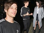 29 DEC 2015  - LONDON  - UK*** NO WEB USE ****** EXCLUSIVE PICTURES - MUST CALL FOR PRICING - AVAILABLE FOR UK NEWSPAPERS ONLY ***LOUIS TOMLINSON WENT WITH FRIENDS TO WATCH 'TOP SECRET COMEDY' ON DRURY LANE BEFORE HEADING ON A NIGHT OUT WITH NEW GIRLFRIEND, US ACTRESS, DANIELLE CAMPBELL, AT PROJECT CLUB, OFF OXFORD STREET. THE GROUP LEFT THE CLUB AT 1.50AM AND HEADED TO AN ADDRESS IN FULHAM FOR A HOUSE PARTY.LOUIS' ROWDY FRIEND RAN INTO THE ROAD AT 2.50AM, CAUSING TRAFFIC TO HALT, BEFORE ANOTHER FRIEND CAME ALONG TO PULL HIM AWAY. LOUIS AND DANIELLE LEFT SHORTLY AFTER THIS AND HEADED OUT OF TOWNBYLINE MUST READ : XPOSUREPHOTOS.COM***UK CLIENTS - PICTURES CONTAINING CHILDREN PLEASE PIXELATE FACE PRIOR TO PUBLICATION *****UK CLIENTS MUST CALL PRIOR TO TV OR ONLINE USAGE PLEASE TELEPHONE  442083442007