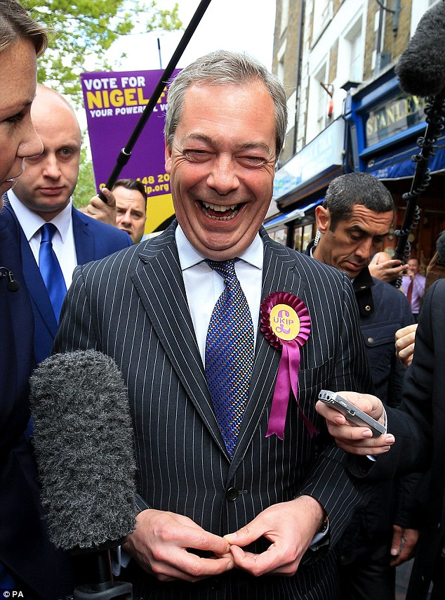 Malicious: The Ukip leader has received previous death threats during his time at the head of the party