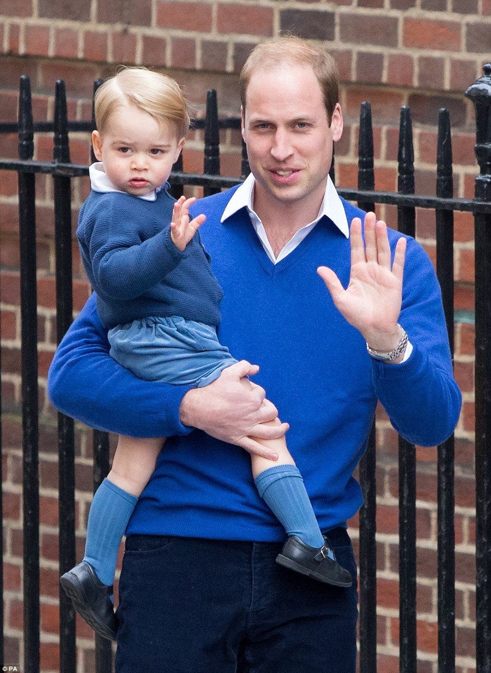 Prince George Arrives For First Day At His New Montessori