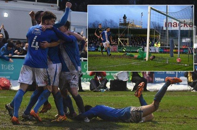 Eastleigh 1-1 Bolton: Darren Pratley's late equaliser denies non-leaguers famous upset
