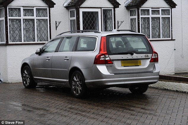Sabotage: According to Mr Farage's initial comments following the crash, the mechanics who examined his Volvo (pictured) were 'absolutely certain' that the nuts on the wheel had been loosened