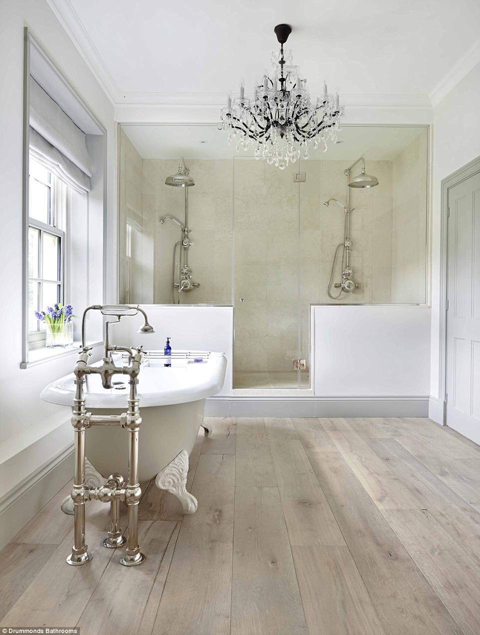 Britain's most-coveted interiors are revealed   Daily Mail ... on Farmhouse Bathroom Floor Tile  id=87296