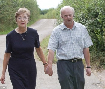 Genette's mother Sheila (pictured in 2003 with husband Bob) said: 'I hoped that one day Robert Black might talk, though what the incentive would be I didn't know and deep down in my heart I felt that he wouldn't'