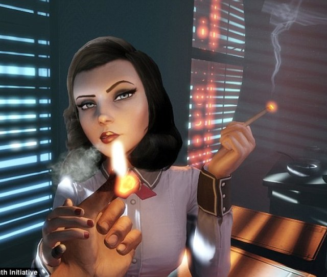 Smoking Is Prevalent And Glamorized In Video Games Which Could Lead To A Rise In