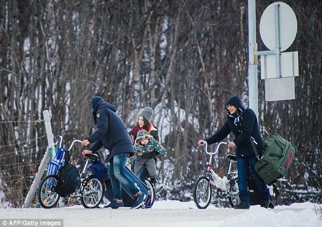 Los refugiados de tan lejos como Afganistán e Irak han estado viajando a Noruega con la esperanza de comenzar una nueva vida