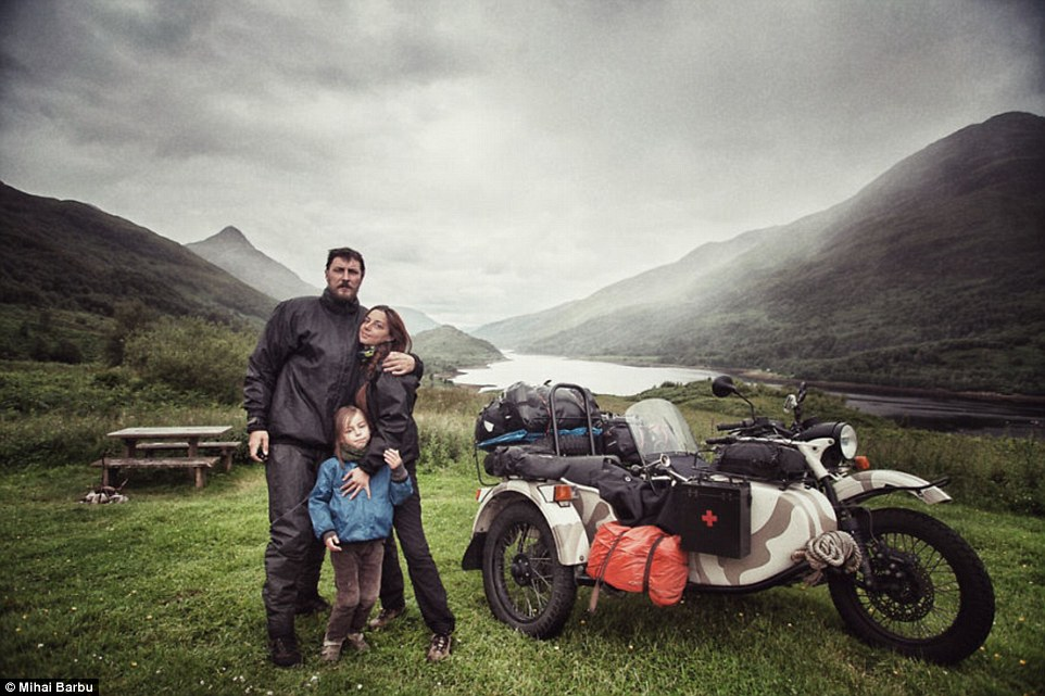 Instead of a normal summer holiday last year, the Barbu family decided to embark on a four-month adventure through 41 countries - and the photographs look incredible
