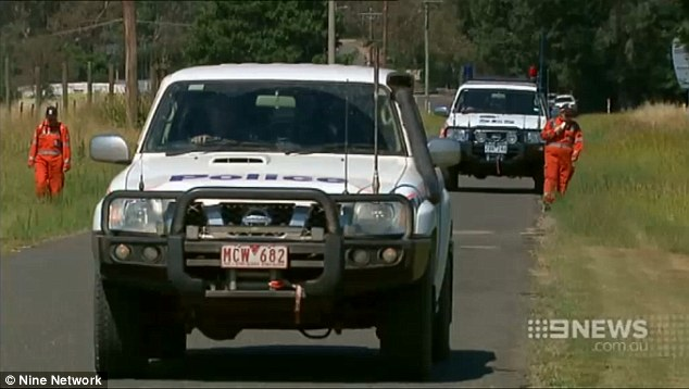 Victoria Police told Daily Mail Australia Saturday's search was focusing on Whorouly, Ms Chetcuti's home town