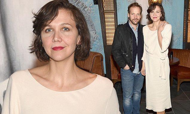Maggie Gyllenhaal Snuggles Up To Husband Peter Sarsgaard