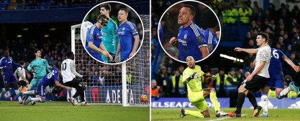 Chelsea 3-3 Everton: John Terry nets 98th minute equaliser to earn Blues a point in