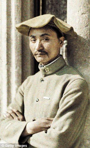 Worker from Indochina on the Western Front