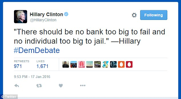 Image result for HILLARY TOO BIG TO JAIL