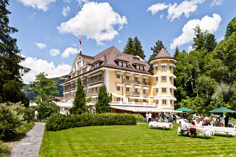 Julie Andrews Home Gstaad