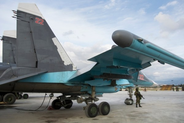 Russia shows military might in Syria ahead of peace talks ...