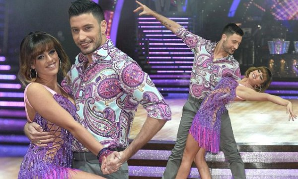 Georgia and Giovanni show off their flirty moves ahead of ...