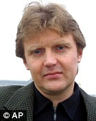 Mr Litvinenko, pictured in 2002