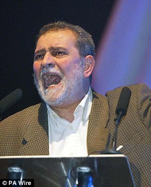 Azzam Tamimi, a Palestinian academic who has said he would carry out a suicide attack himself