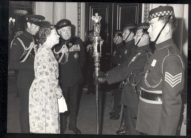 Continued: It is thought the Queen, pictured with Lord Bramall in 1986, may seat him next to her at this year's gala, as a public sign of support for the D-Day veteran who she has know for more than 40 years