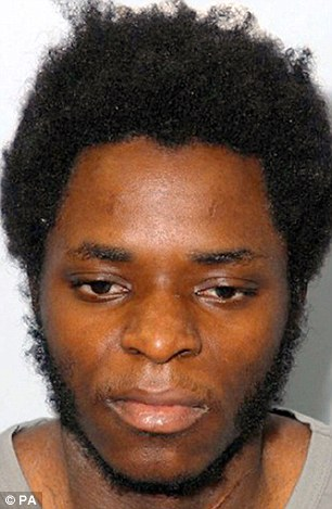 Michael Adebowale was also jailed at Category A prison Belmarsh