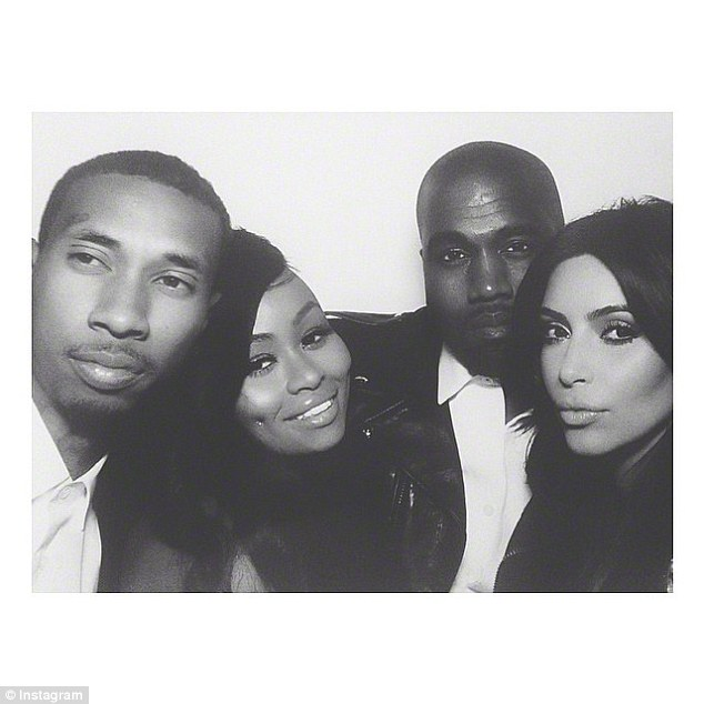 The way they were: The couple even attended Kim and Kanye West's wedding in 2014