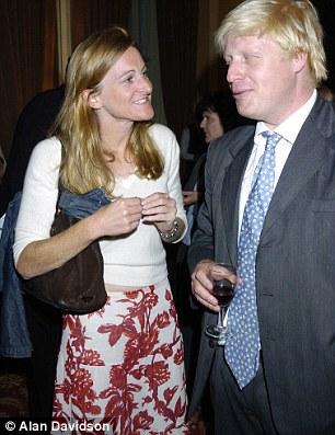 Rachel Whetstone and Boris Johnson