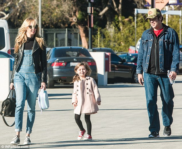 Co Parenting Benicio Del Toro And Former Love Kimberly Stewart Treated Their Little Girl