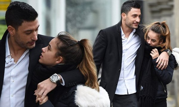 Georgia May Foote and Giovanni Pernice can hardly keep ...