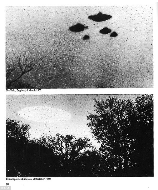 Unexplained happenings:The CIA recently released files from its archives investigating reports of alien and UFO sightings. The organization said the declassified documents will interest both believers and skeptics